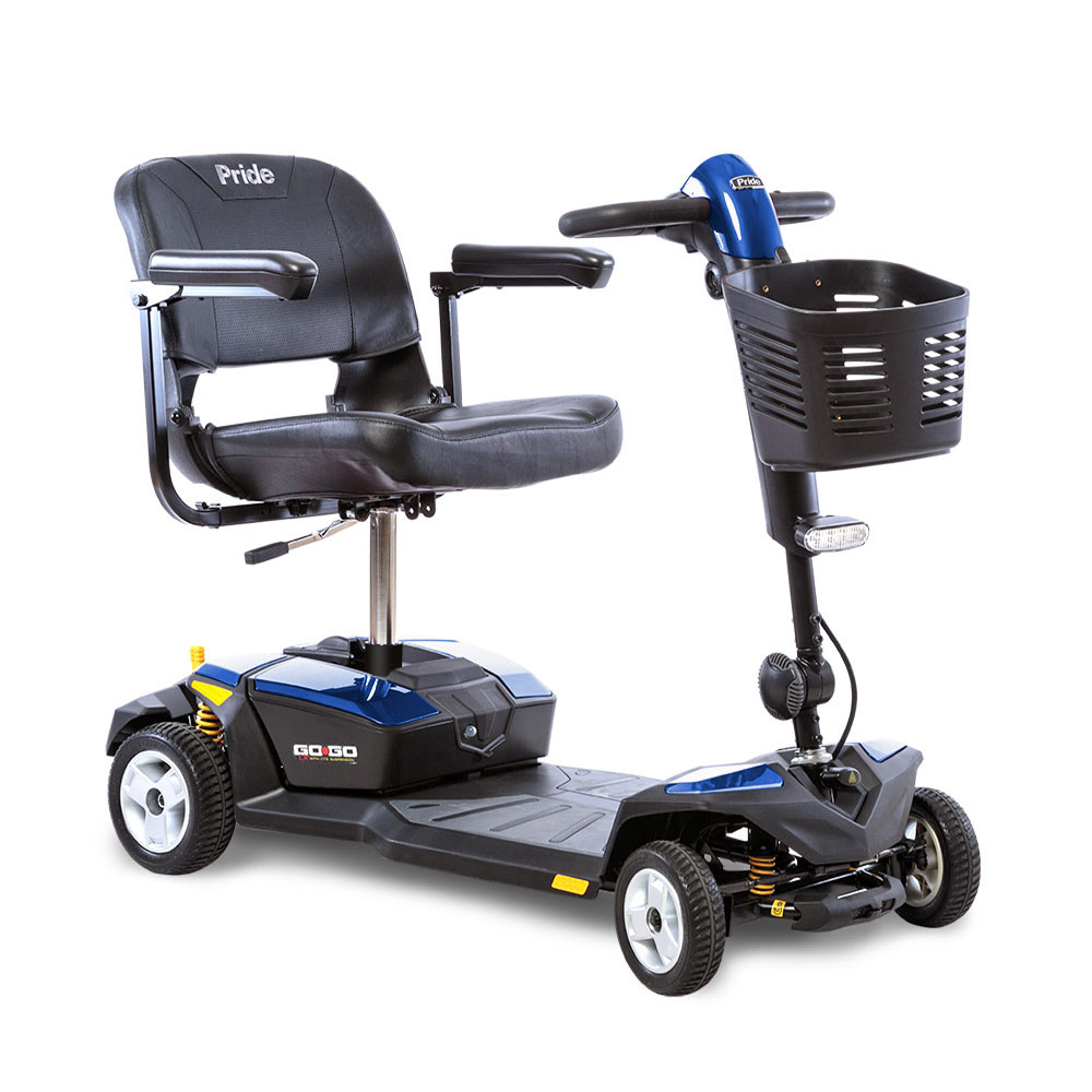 Go-Go® LX with CTS Suspension 4-Wheel Blue