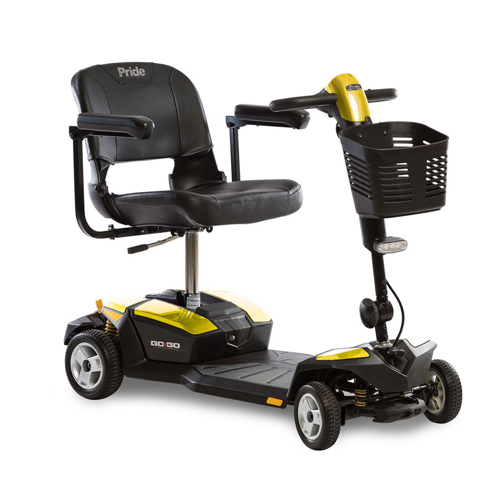 Go-Go® LX with CTS Suspension 4-Wheel Yellow
