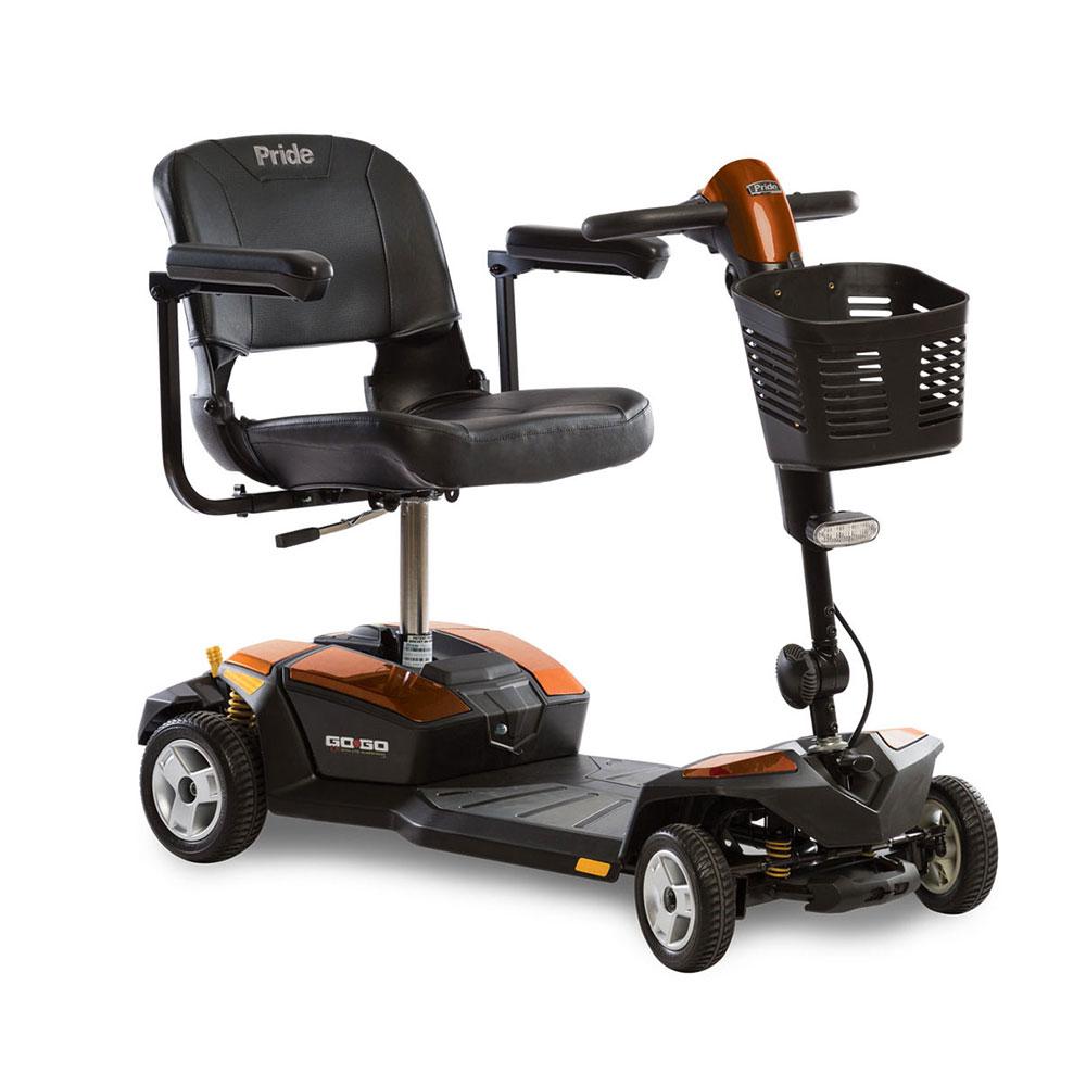 Go-Go® LX with CTS Suspension 4-Wheel Orange