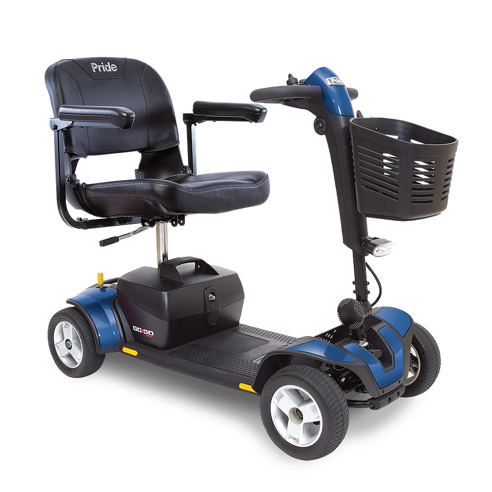 Go Go Sport Blue 4 Wheel