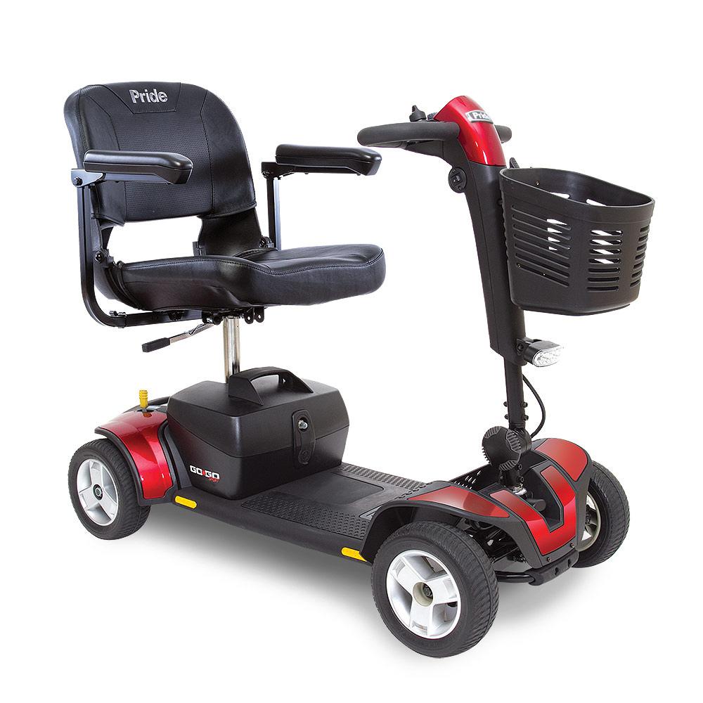 Go Go Sport Red 4 Wheel